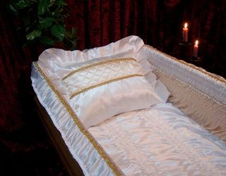 Coffin lining, funeral accessories, coffin hardware